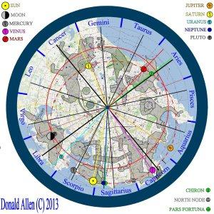 Terrestrial Chart