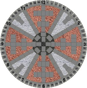 Zodiac Wheel Drawing 2