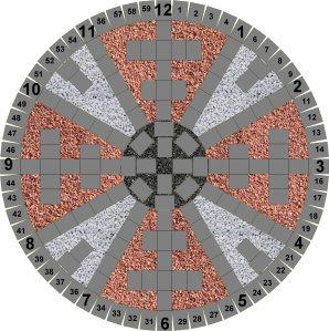 Zodiac Wheel Drawing 2