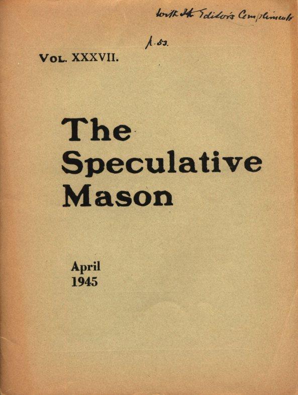 April 1945 000 Cover