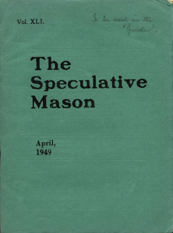 April 1949 000 Cover